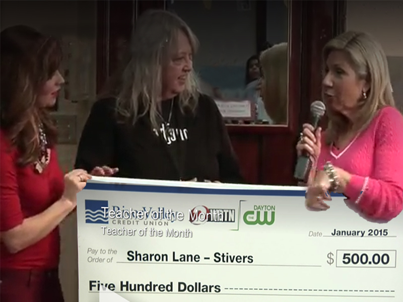 sharon lane big check